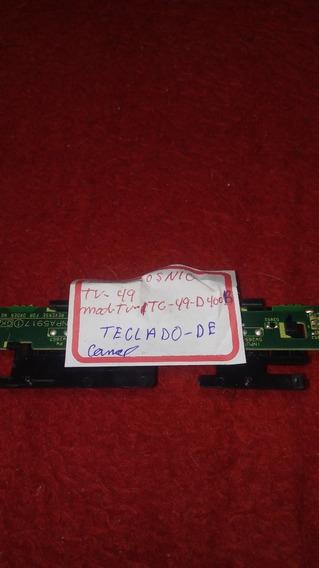 Teclado De Canal Panasonic Tc49d400b