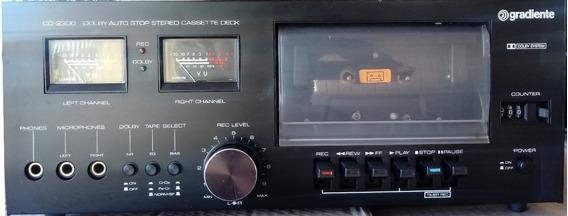 Tape Deck Gradiente Cd 2300