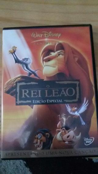 Dvd Rei Leão Edição Especial Original
