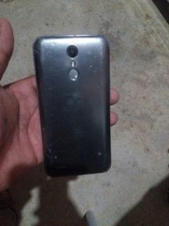 Celular LG K10 Power Cor Cinza Para Retirada De Peças