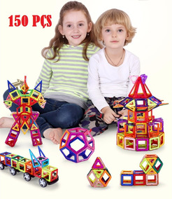 Brinquedo Educativo Mágico Bloco Construção 150 Pçs Boleto