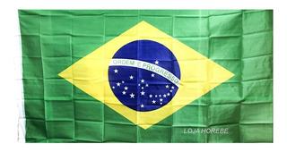 Bandeira Do Brasil Oficial Grande 1,5m X 0,90 Envio Imediato