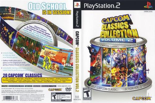 Capcom Classics Collection 2 Para Play Station 2 + 20 Jogos