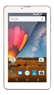 "Tablet Multilaser M7 3G Plus NB30 7"" 16GB rosa com memória RAM 1GB"