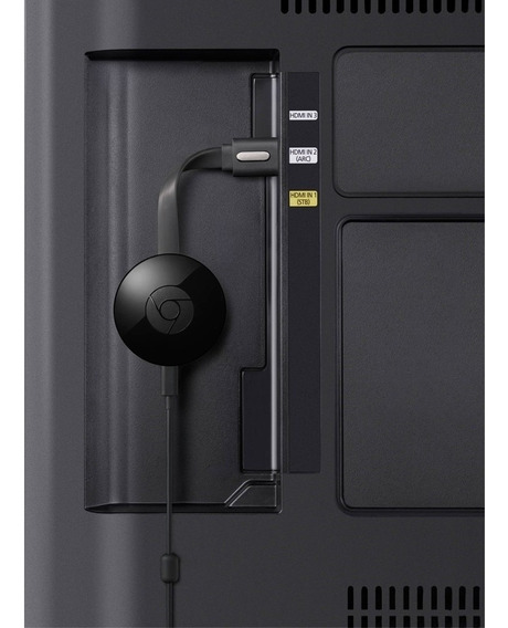 Chromecast 2 Full Hd Wireless Hdmi Preto Nc2-6a5 Google