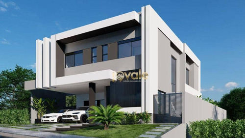 Imagem 1 de 18 de Casa Com Vista Maravilhosa Com 4 Dormitórios Condomínio Residencial Jaguary - São José Dos Campos - Ca2155