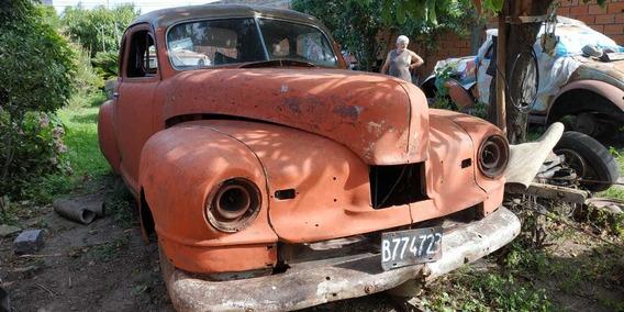 Vendo Nash 1947. Casco En Buenas Condiciones. 130.000 Pesos