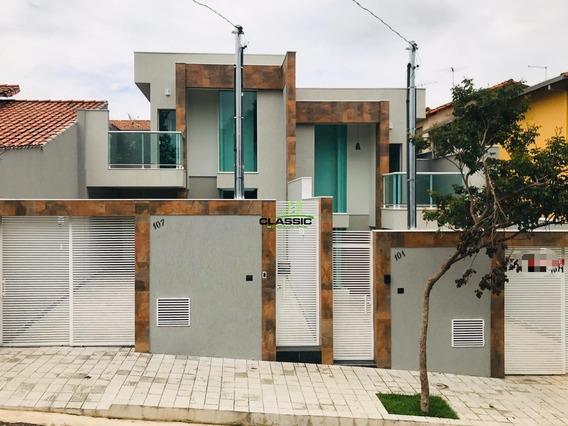 Casa Duplex Com 3 Quartos Para Comprar No Planalto Em Belo Horizonte/mg - 3492