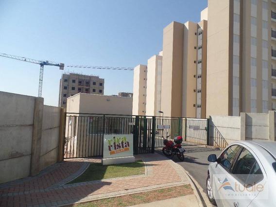 Apartamento Com 2 Dormitórios À Venda, 57 M² - Condomínio Residencial Viva Vista - Sumaré/sp - Ap3875
