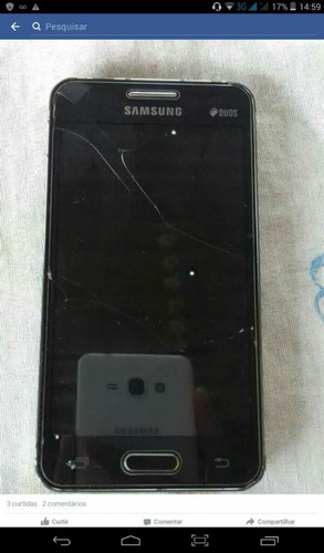 Imagem 1 de 1 de Samsung Galaxy Core 2 Suporte Para 2 Chips Android 4.1 Está