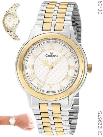 Relógio Champion Feminino Ch22957s Misto