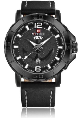 Relógio De Pulso Naviforce Nf9122m Preto
