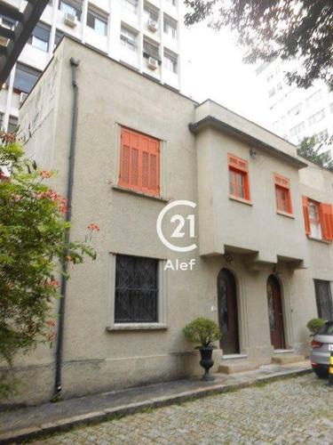 Casa Para Alugar, 74 M² Por R$ 6.000,00/mês - Higienópolis - São Paulo/sp - Ca0060