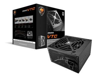 Fonte Cougar Vtc 500w 80 Plus White - Com Garantia