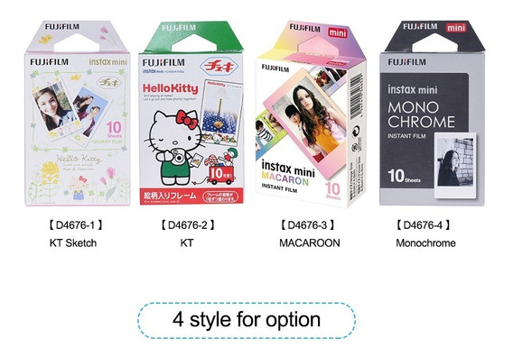 Fujifilm Instax Mini 10 Sheets Filme Cor Gradual Macaroon