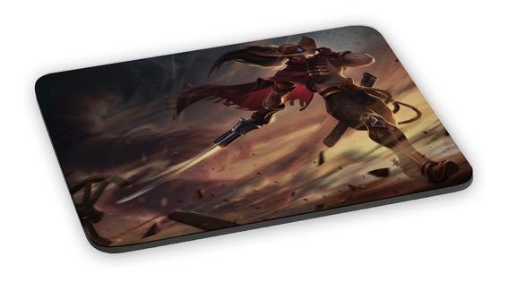Mousepad Yasuo Lol League Of Legends Jogo Mouse Pad