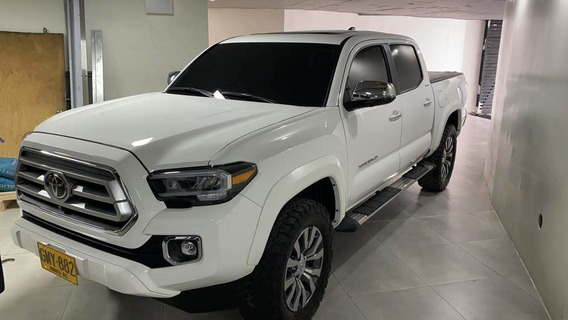 Toyota Tacoma Limited, Niv 2 Plus, Modelo 2020, Color Blanco