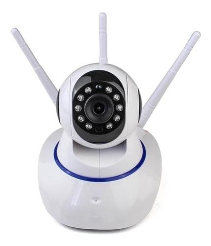 Imagem 1 de 10 de Câmera Wi Fi Inteligente Babá Com Áudio Ptz Lotus Yoosee