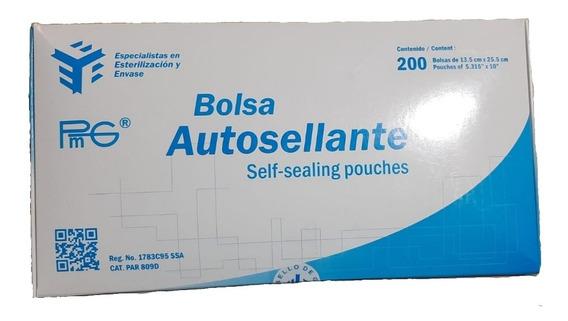 Bolsa de esterilizaci/ón autosellable 200 unidades 5.12 x 2.24 pulgadas