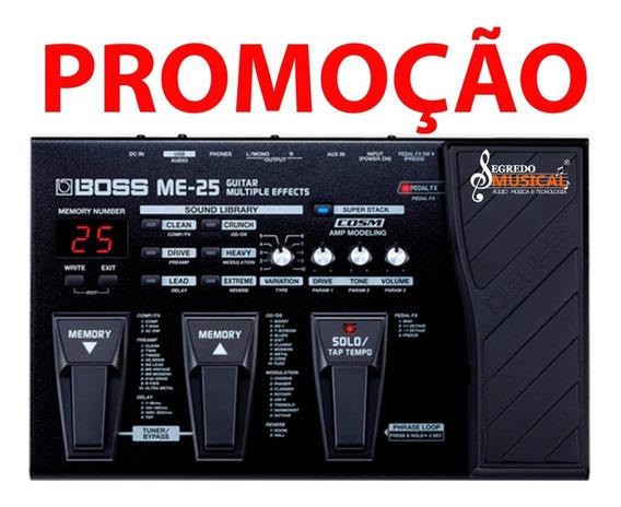 Pedaleira P /guitarra Boss Me25 Processador De Efeito Me-25