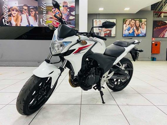 Honda Cb 500f Ano 2014 Unico Dono Financiamos