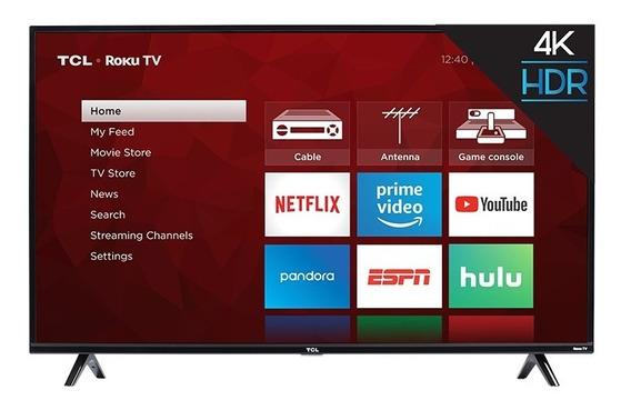 Televisor Tv Marca Tlc 55 Smart Tv Uhd Con Roku Incluido