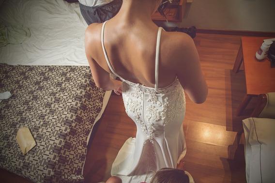 Vestido De Novia Un Solo Uso Impecable