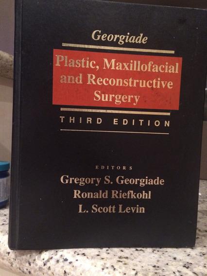 Livro Cirurgia Reconstrutiva Plástica .1233 Págs Ed . 1997