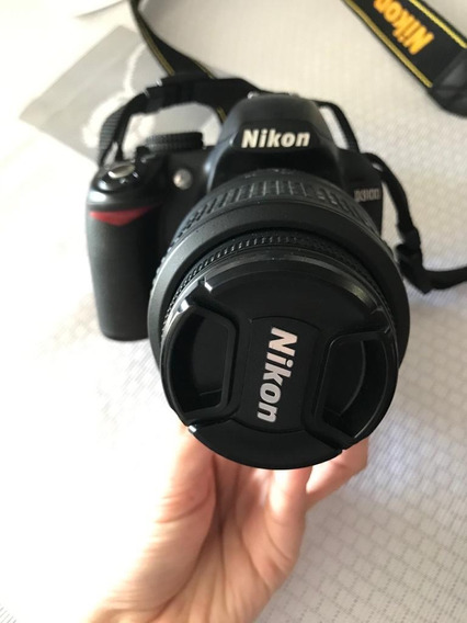 Nikon D3100 + Lente 18-55 Semi-nova