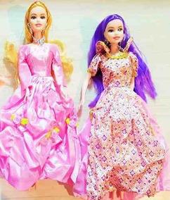 Kit 5 Bonecas Ana Bella Princesas Modelo Barlina Atacado