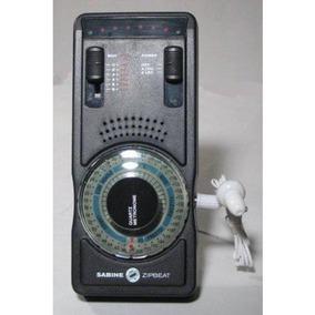 Metrônomo Diapasão Com Fone Zipbeat 6000 Sabine