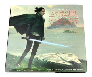 Libro Arte Star Wars El Ultimo Jedi Ingles The Last Jedi Art