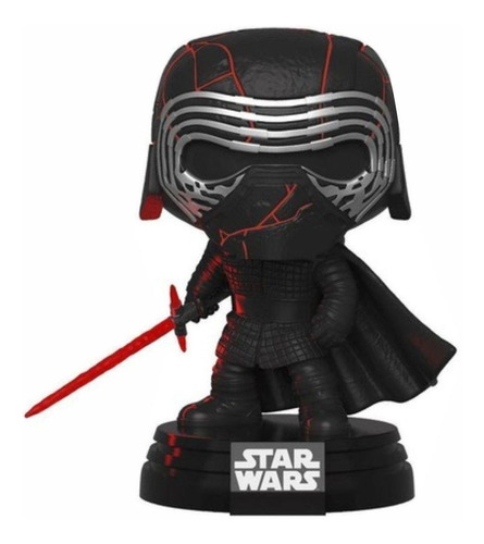 Boneco Funko Pop Star Wars Kylo Ren Lights And Sound 308