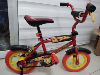 Bicicleta Cars Disney Pixar