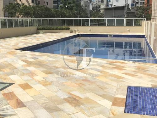 Apartamento Com 3 Dormitórios À Venda, 126 M² Por R$ 941.024,54 - Enseada - Guarujá/sp - Ap10309
