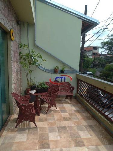 Imagem 1 de 17 de Sobrado À Venda, 225 M² Por R$ 580.000,00 - Jardim Guapituba - Mauá/sp - So0096