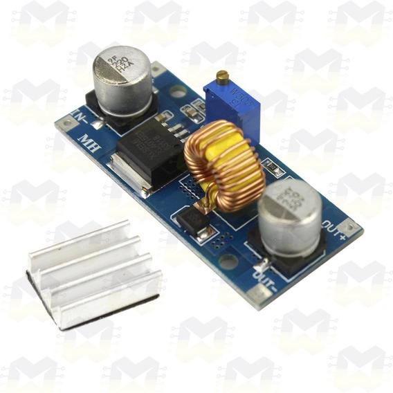 Módulo Regulador De Tensão Ajustável Xl4015 5a Dc-dc Step Do