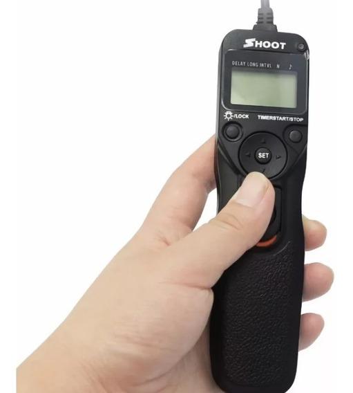 Disparador Com Time Lapse Para Nikon (d700, D800, D5, D4, D3 Etc)