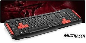 Teclado Gamer Multilaser Multimidia Usb Tc160