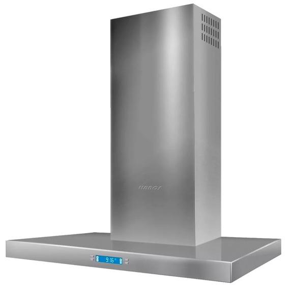 Campana Digital Llanos Acero Premium 90cm Lcd 3 Vel *10