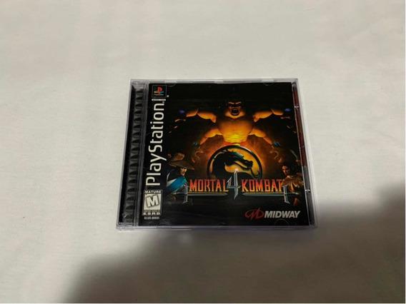 Mortal Kombat 4 Ps1 Original Completo