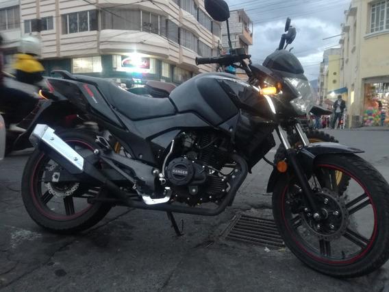 Ranger Tipo Ninja 200 Negra.