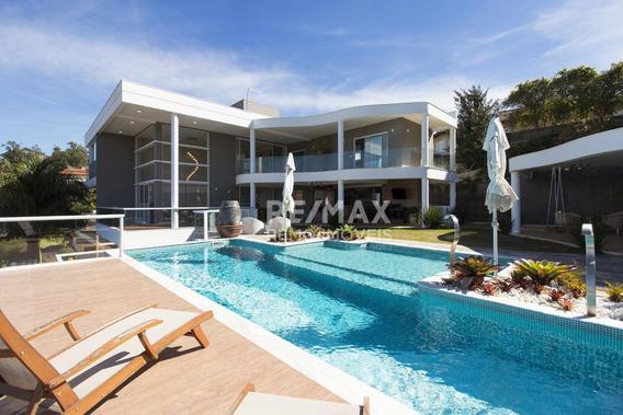 A Casa Do Carioca, 5 Dormitórios À Venda, 620 M² Por R$ 3.690.000 - Condomínio Vista Alegre - Café - Vinhedo/sp - Ca0105