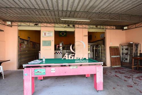 Salão À Venda, 119 M² Por R$ 428.000,00 - Vila Eldízia - Santo André/sp - Sl0120