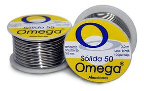 Soldadura (a) 50 X 50 Amar 3 Mt Chica Omega