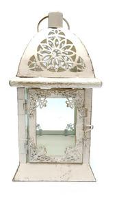 Farol Porta Vela Metal/chapa M12 #60114 - Sheshu