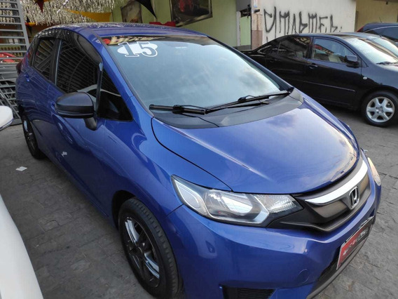 Honda Fit Dx 1.5 2015 Azul