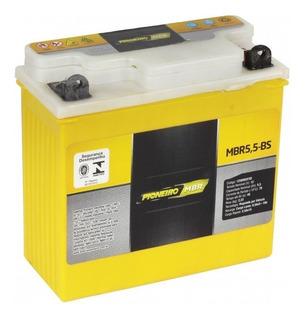 Bateria Pioneiro Mbr5,5-bs Ybr 125 Factor Rd 350 Rdz 125 135