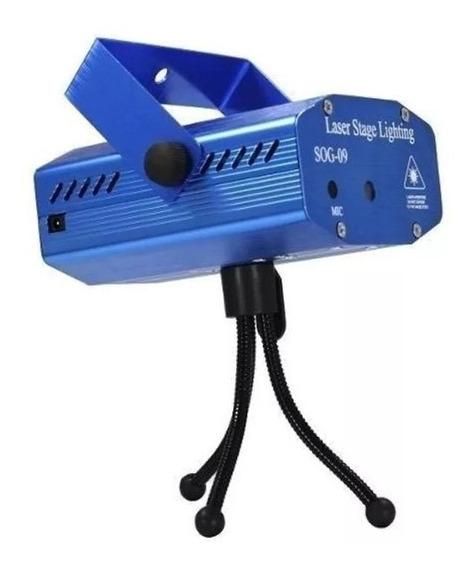 Kit 4 Projetor Holográfico Canhão Laser Efeitos Strobo Festa