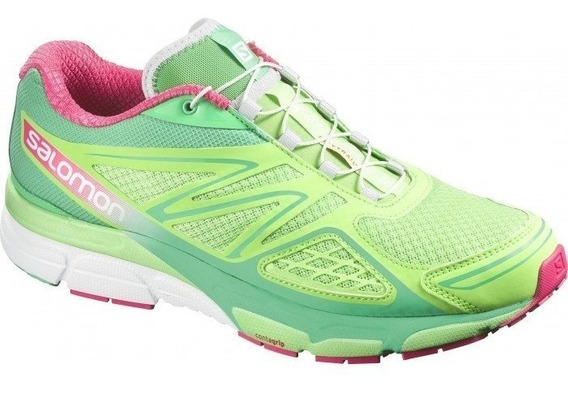 Tenis Salomon X-scream 3d F Verde